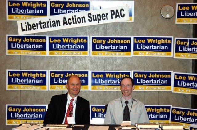 Wes Benedict & Arthur DiBianca at LASPAC booth